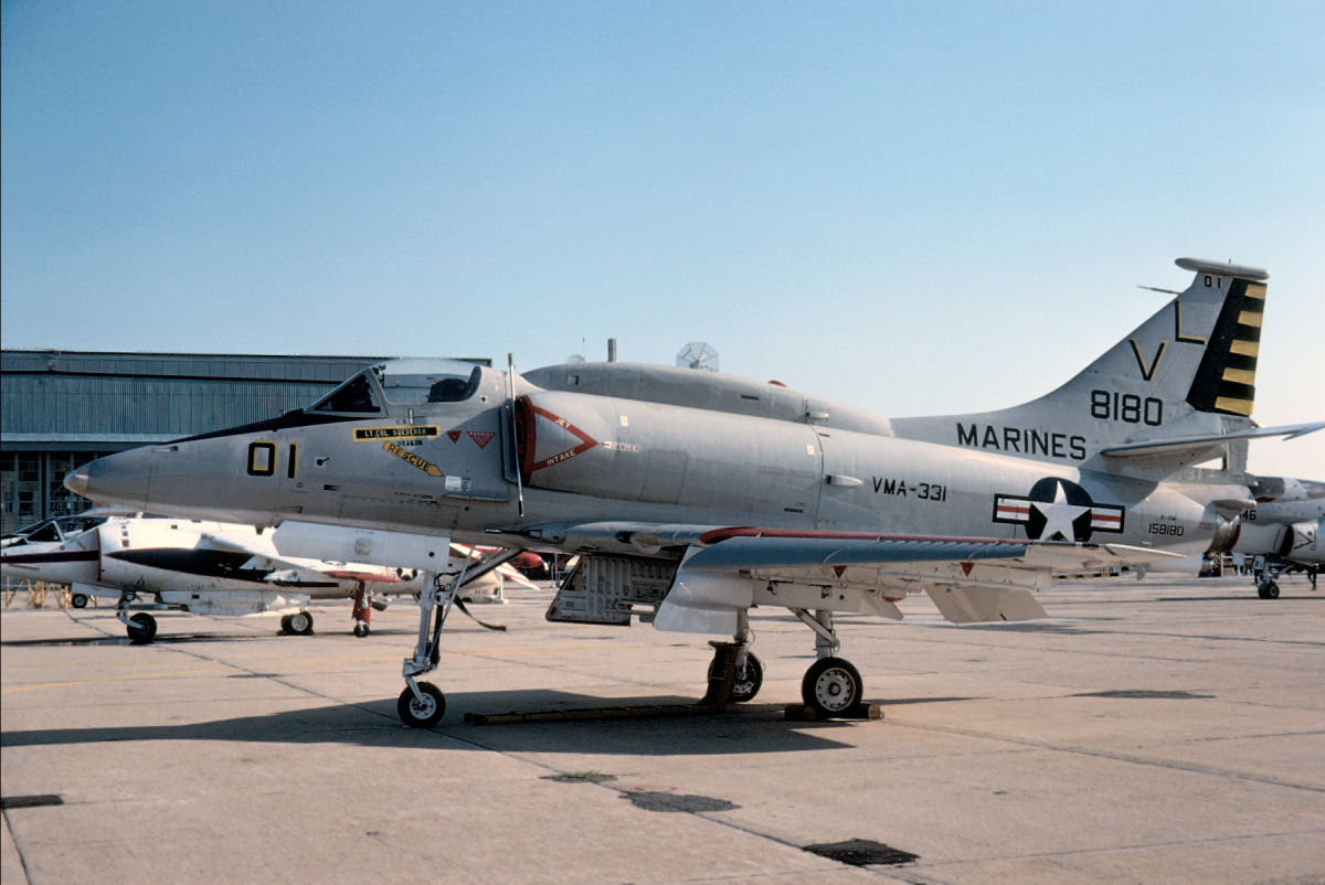 Douglas A-4 Skyhawk Photo Gallery