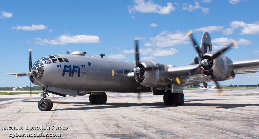 Taxi Fort Wayne >> Boeing B-29 Superfortress Modeler's Online Reference