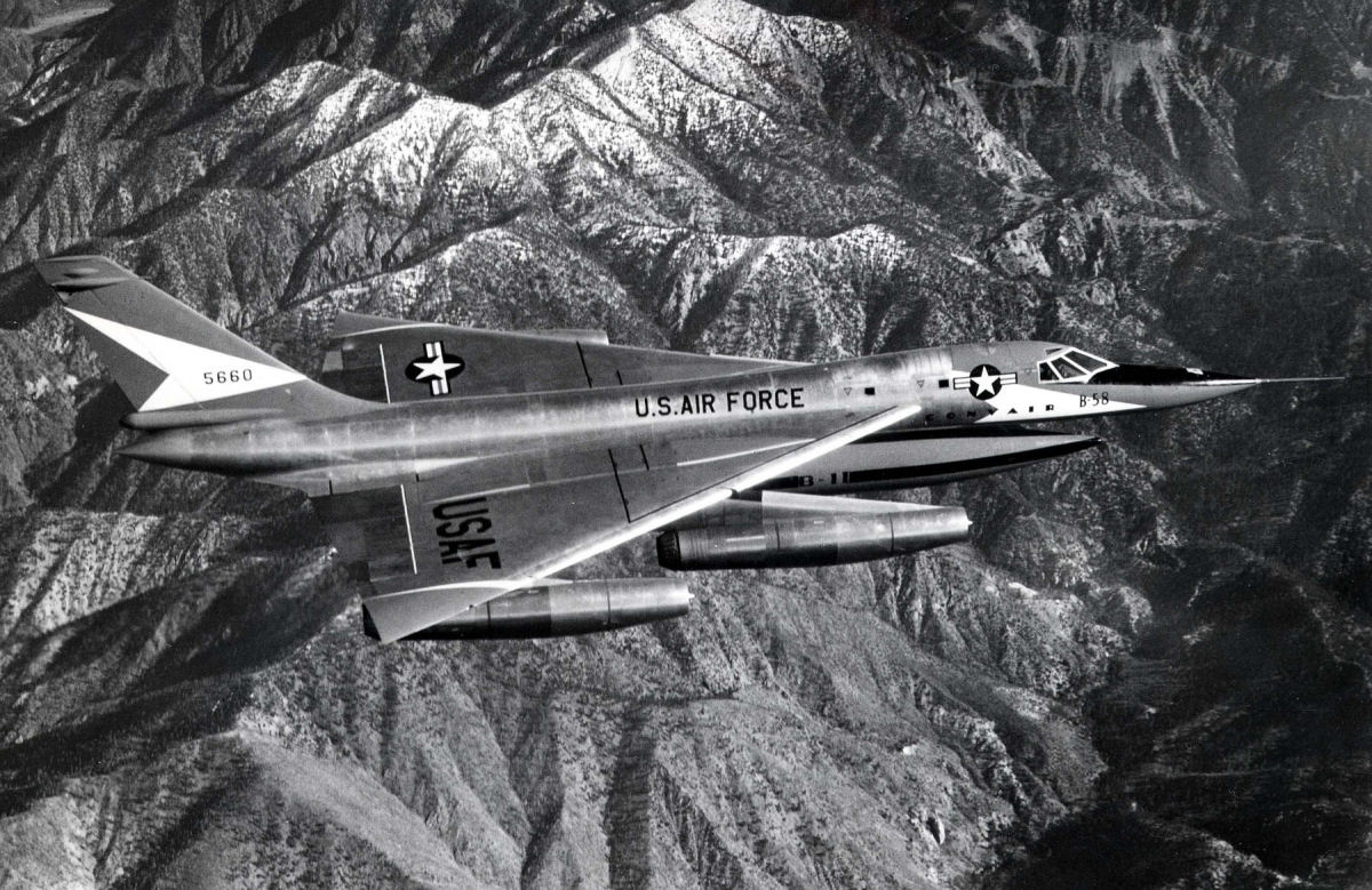 Convair b58 hustler
