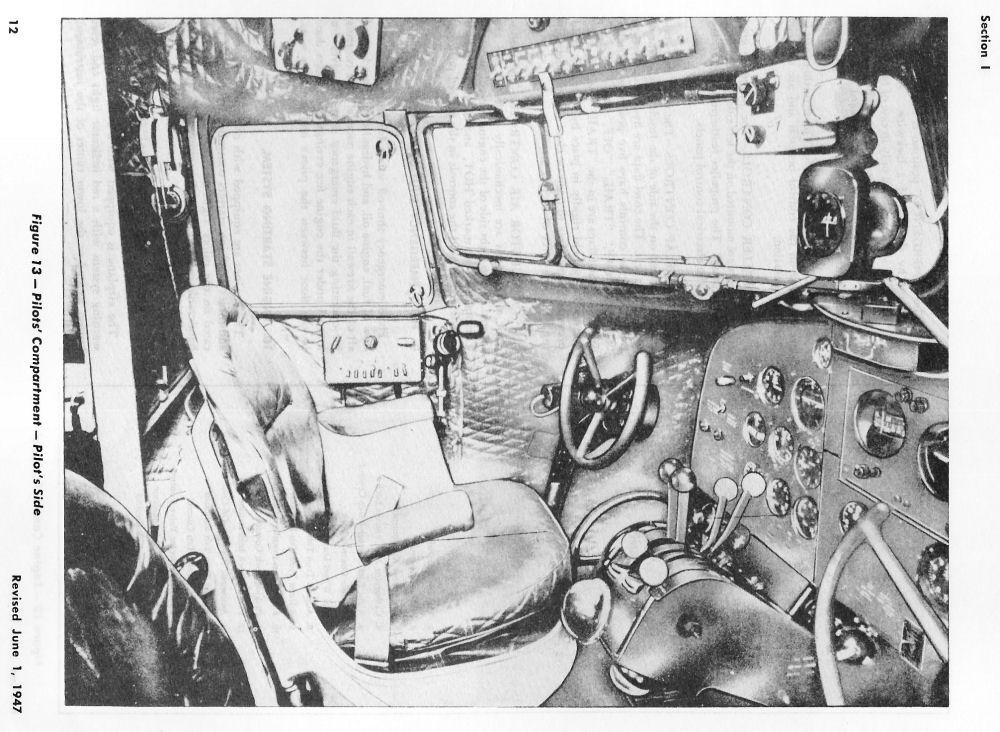 Douglas Dc 3 C 47 Cockpit Layouts
