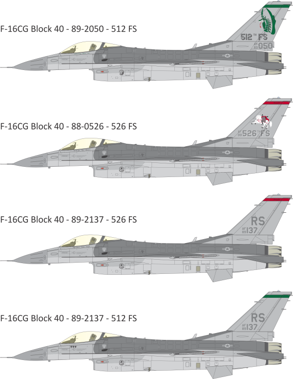 General Dynamics F-16 Fighting Falcon from the 86th ...