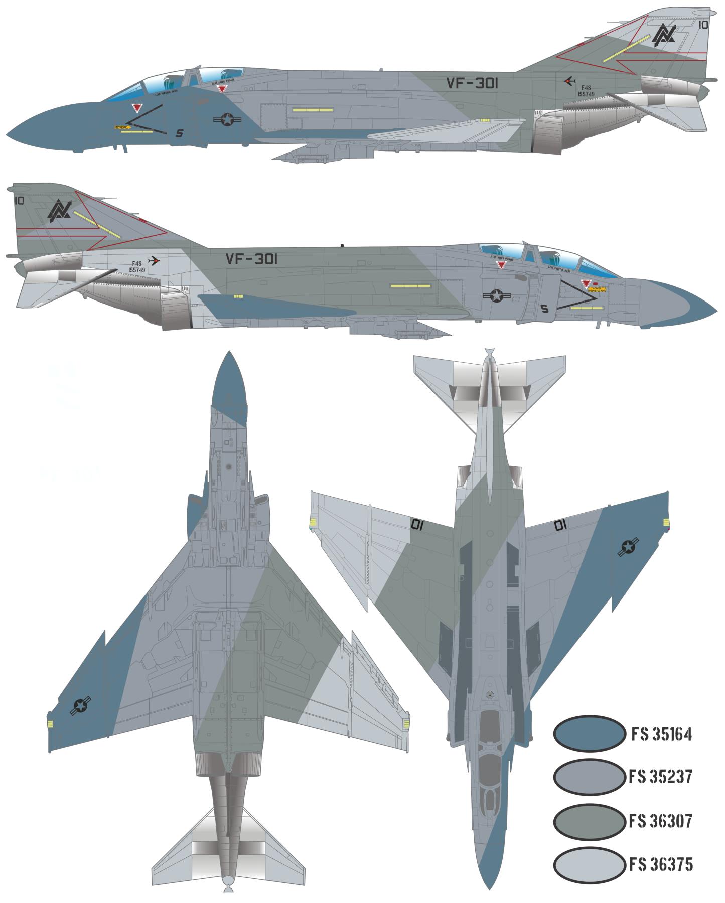 Схема камуфляжа f4 phantom 2