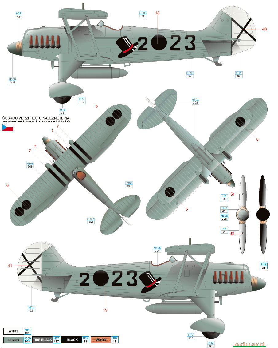 Heinkel he 51 j88 legion condor color profile and paint guide 01 nvjuhfo Choice Image