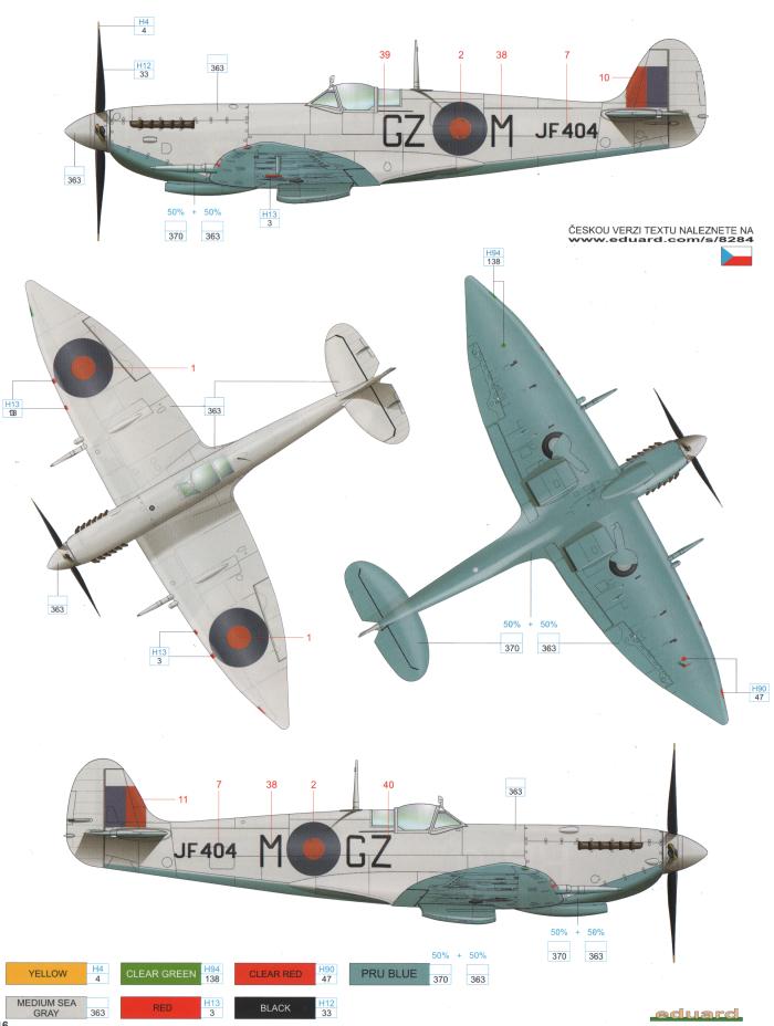 Paint Color Spitfire Mk
