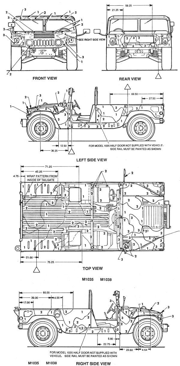M1035/M1038 HMMWV