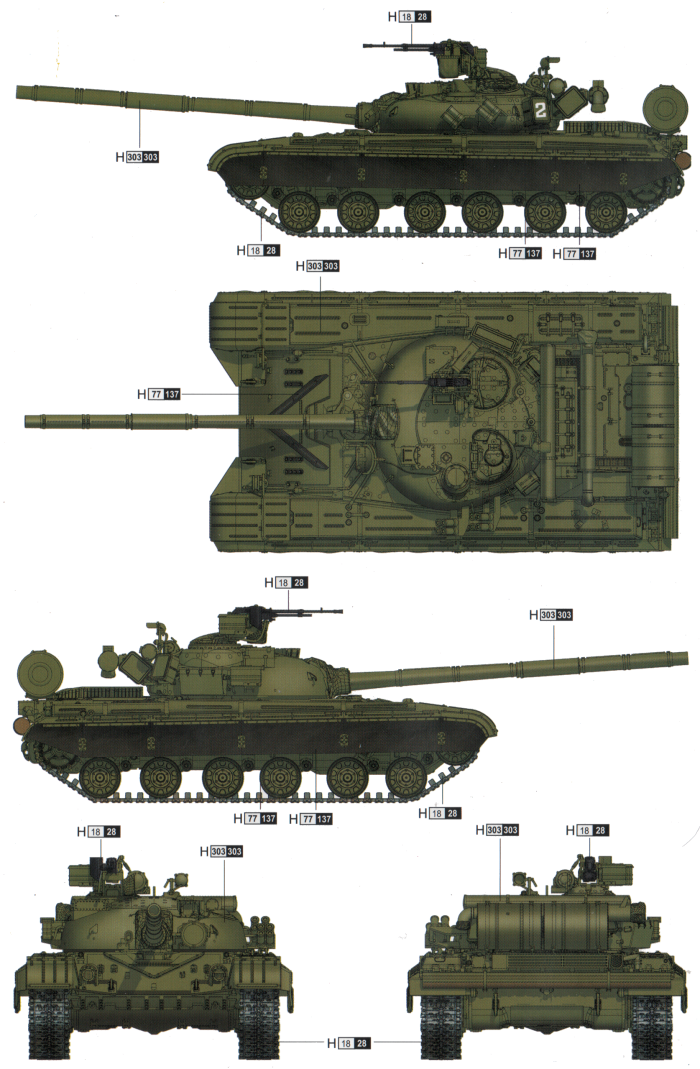 T 64 Camouflage Color Profile And Paint Guide