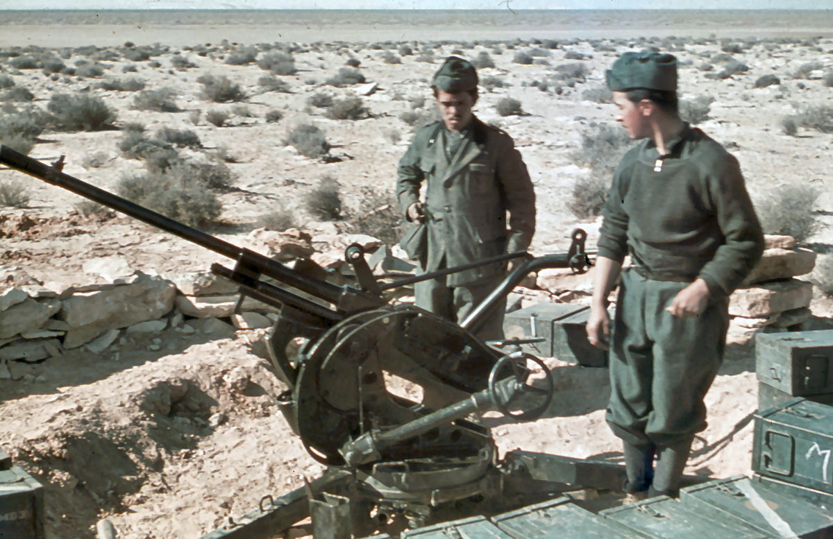 German North Africa Campaign 1941