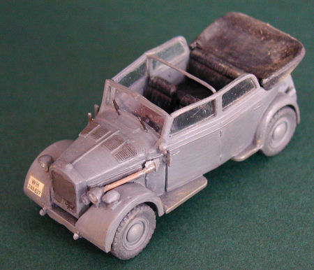 ace   kfz horch staff car build review