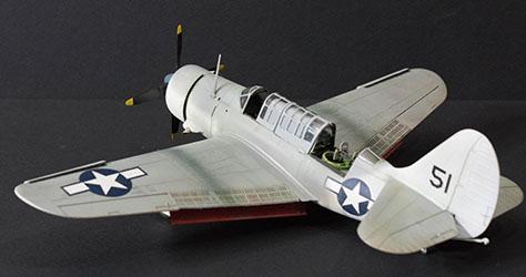 Accurate Miniatures 480406 1/48 SB2C-4E Helldiver Build Review