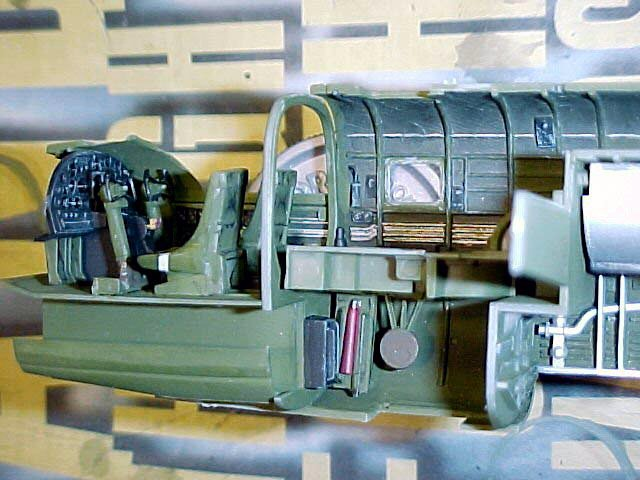accurate miniatures 3430 1 48 north american b 25b mitchell build review