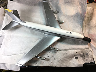 AMtech 729202 1/72 Boeing EC-135N ARIA Build Review