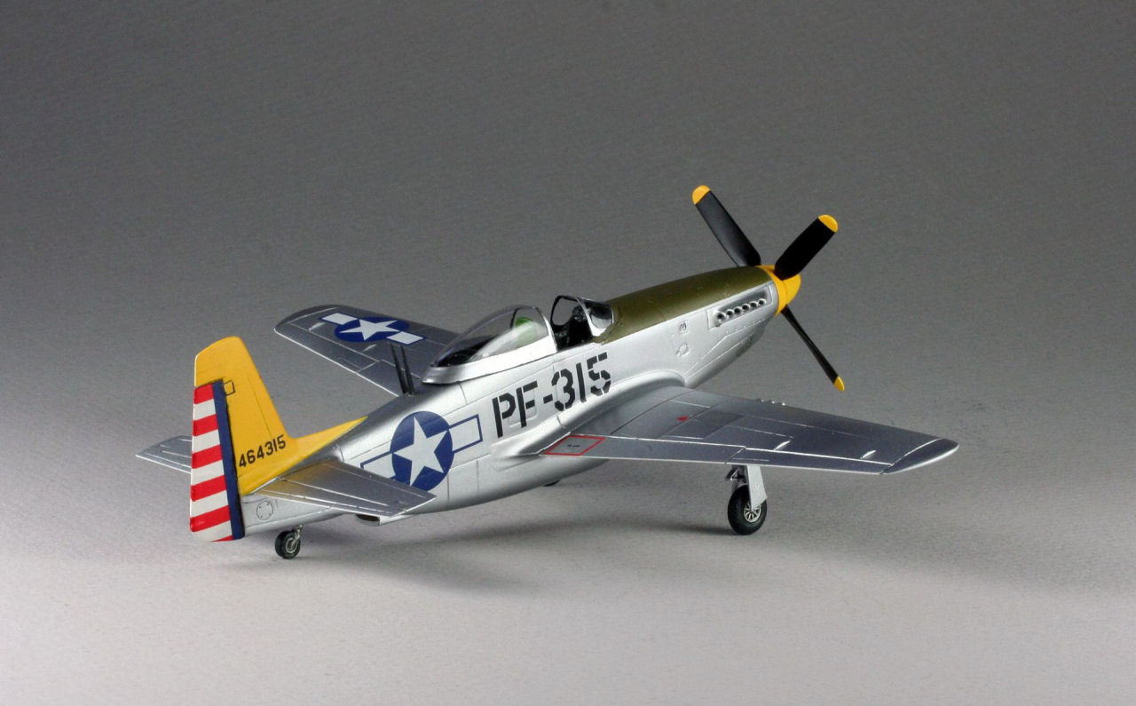 Cmr 160 1 72 P 51h Mustang Build Review Image 03