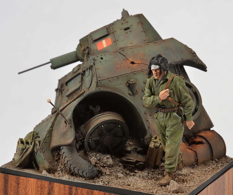 Darius Miniatures 1 35 Italian AB41 Armored Car Wedgie Photo Feature Image 06