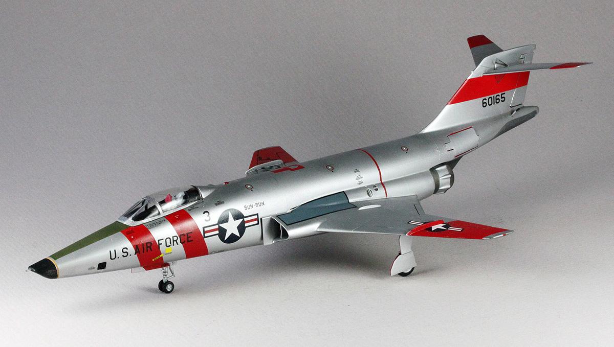 Hasegawa 01953 1/72 RF-101C Voodoo 'Sun Run' Kit Build Review