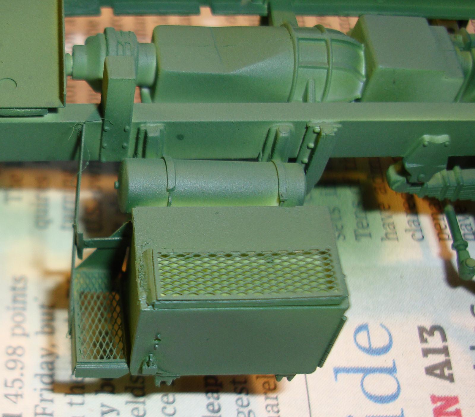 Build A Truck >> Italeri 6513 1/35 M923 'Hillbilly' Gun Truck Build Image 13