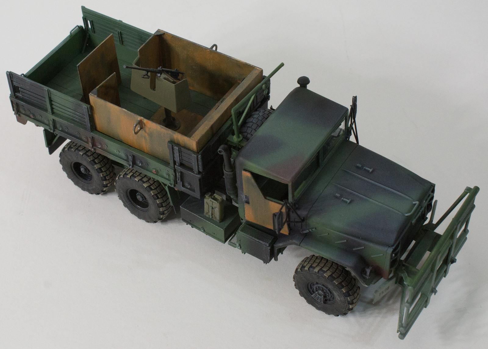 Italeri 6513 1 35 M923 Hillbilly Gun Truck Build Image 46