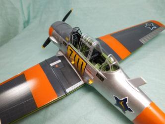 Kitty Hawk Models 32001 1/32 T-6 Texan Build Review