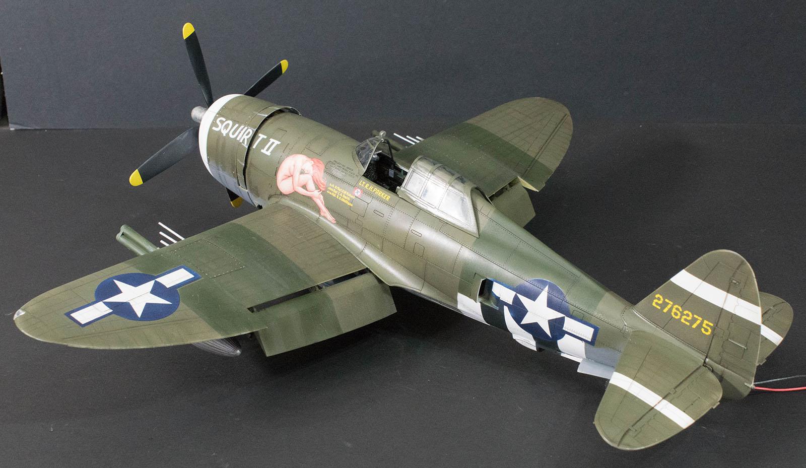 KINETIC K3208 P-47D Razorback in 1:24