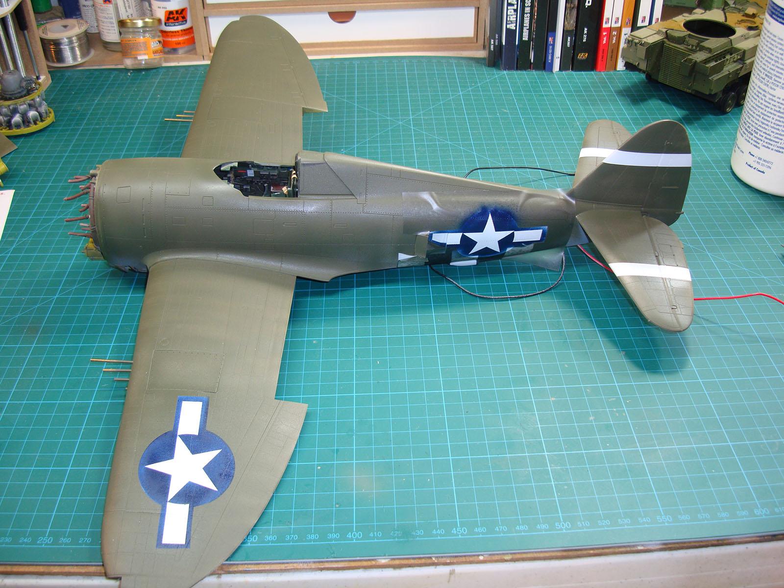 ... to the Kine... P 47d Thunderbolt