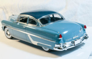Moebius Models 1213 1/25 1954 Hudson Hornet Build Review