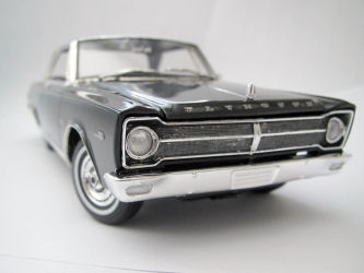Moebius Models 1215 1/25 1965 Plymouth Satellite Build Review