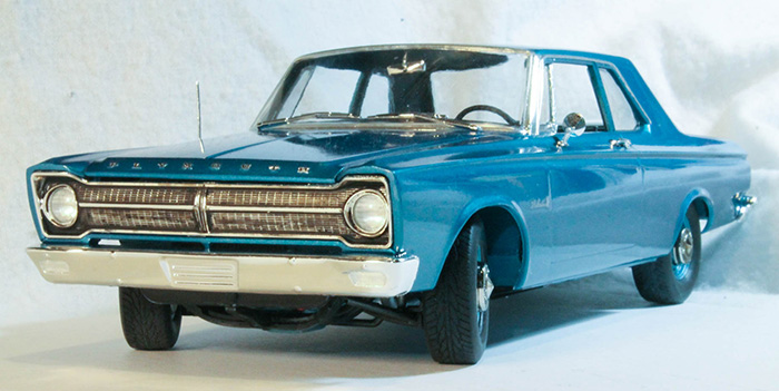 Moebius Models 1218 1 25 1965 Plymouth Belvedere Kit Build