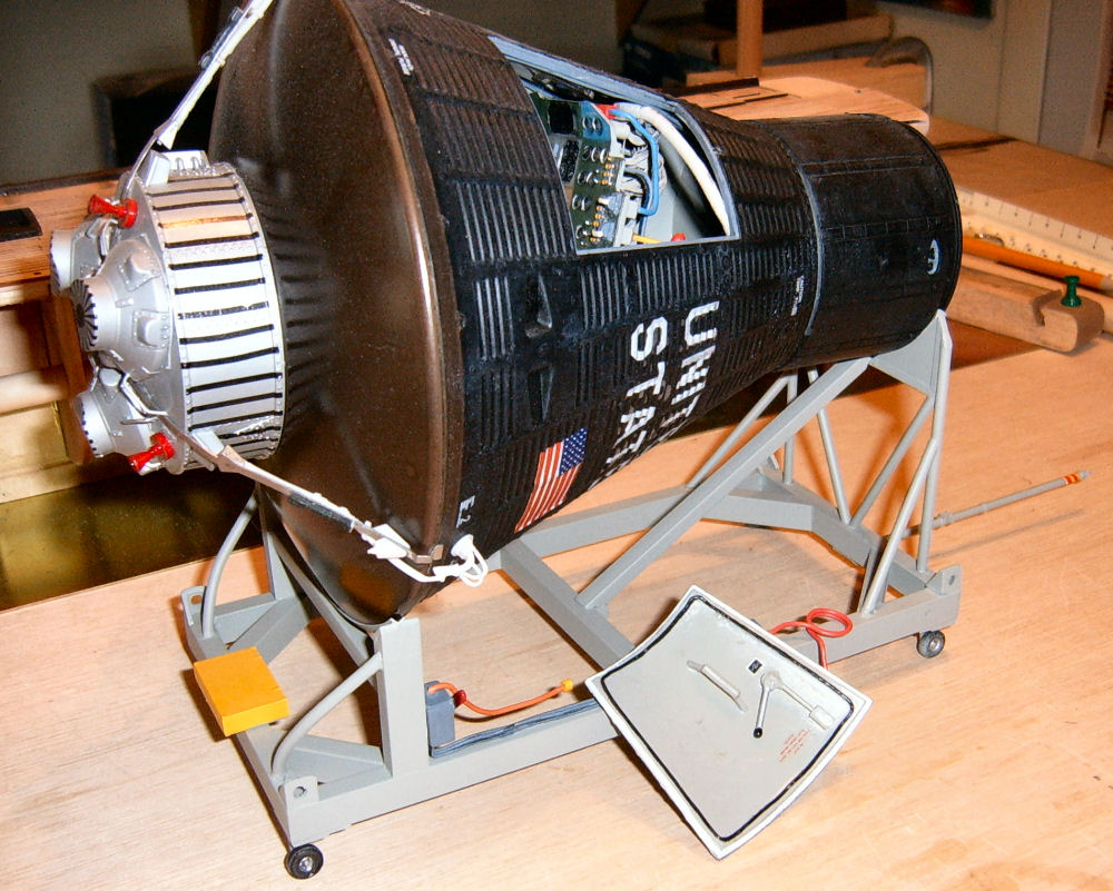 Atomic City 62001 1 12 Mercury Spacecraft Quick Build