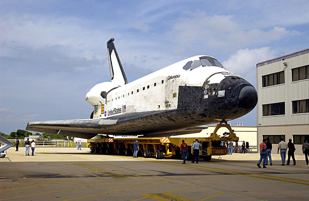 space shuttle columbia mass - photo #42