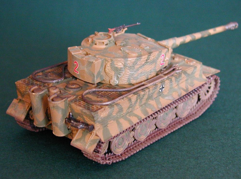 Revell 3116 1/72 Scale Pz Kpfw VI Tiger I Ausf E Kit Build