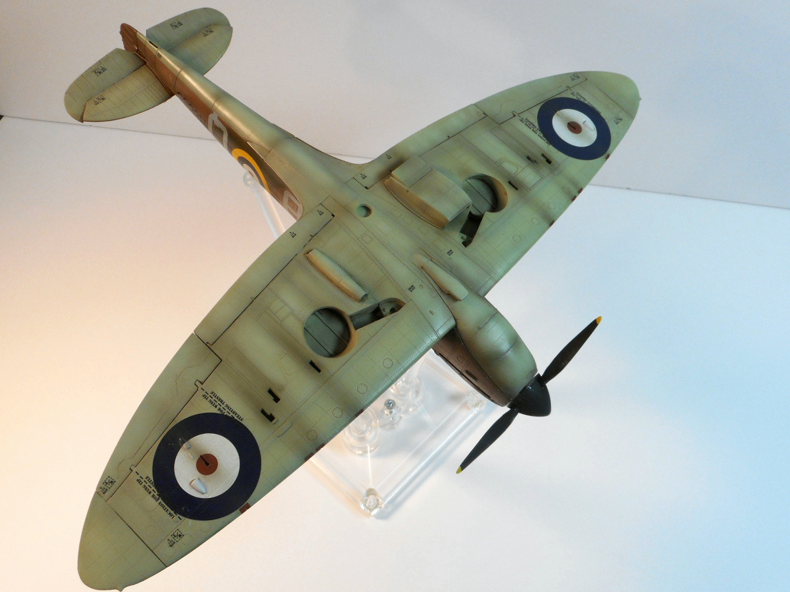 Revell Spitfire Mk Ii   Build