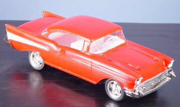 Revell 1931 1/25 '57 Chevy Bel Air Easy Kit Build Review