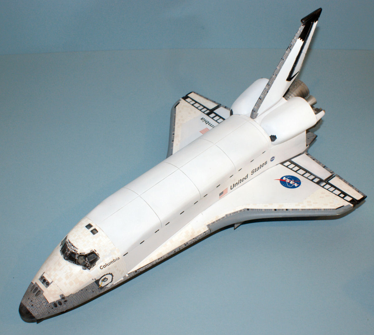 space shuttle columbia model - photo #14