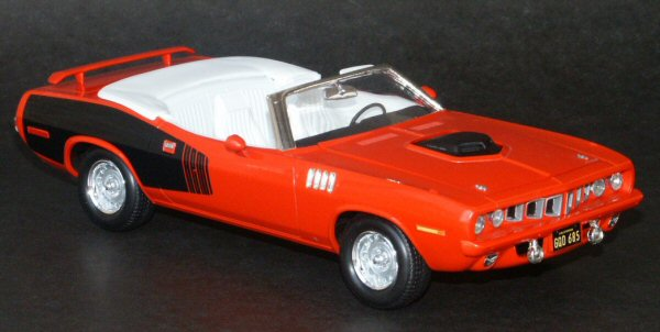 Revell 2381 1/25 Scale Nash Bridges '71 Cuda Kit Build Review