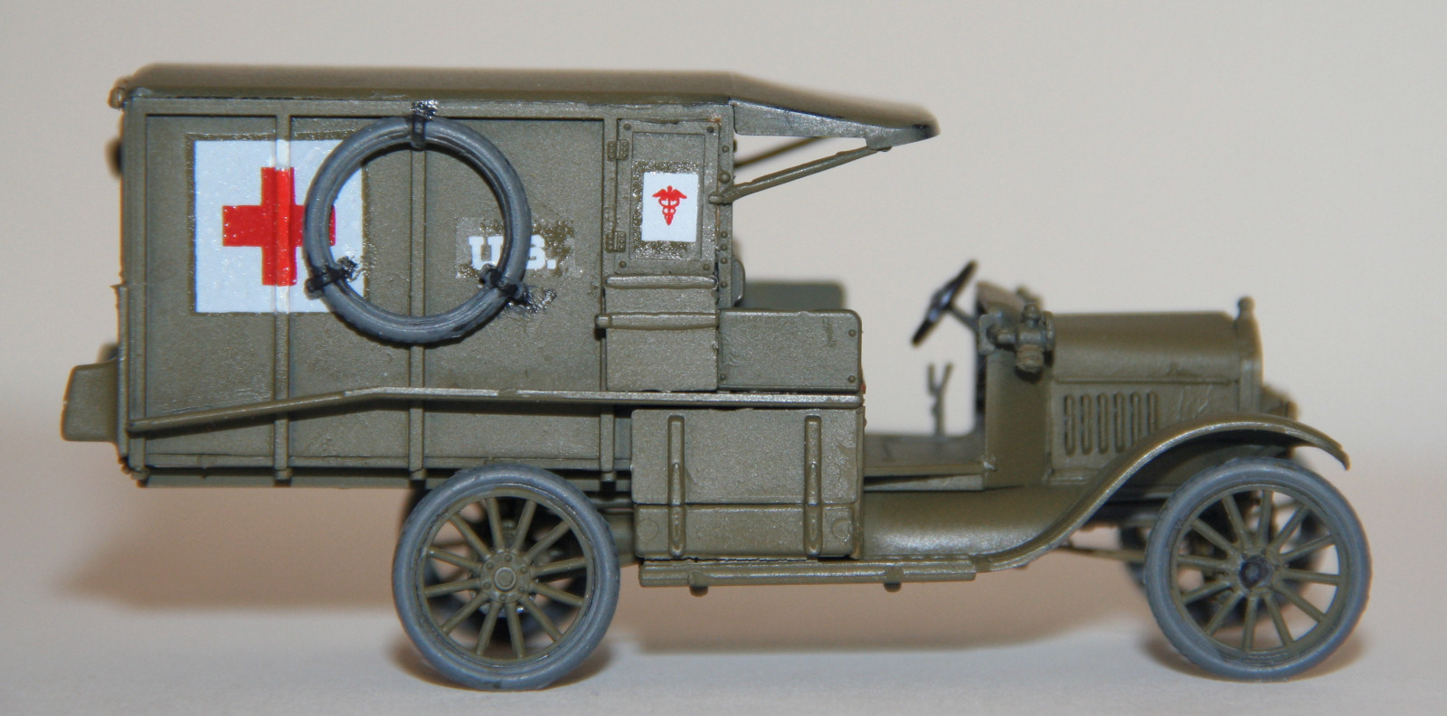 Rpm 48001 1 48 Ford Model T Ambulance Kit Build Review