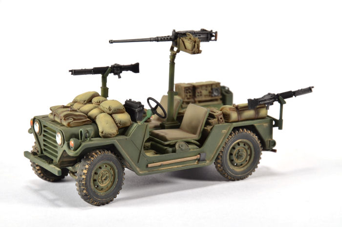 Tamiya 35123 1 35 M151a2 Mutt Build Review