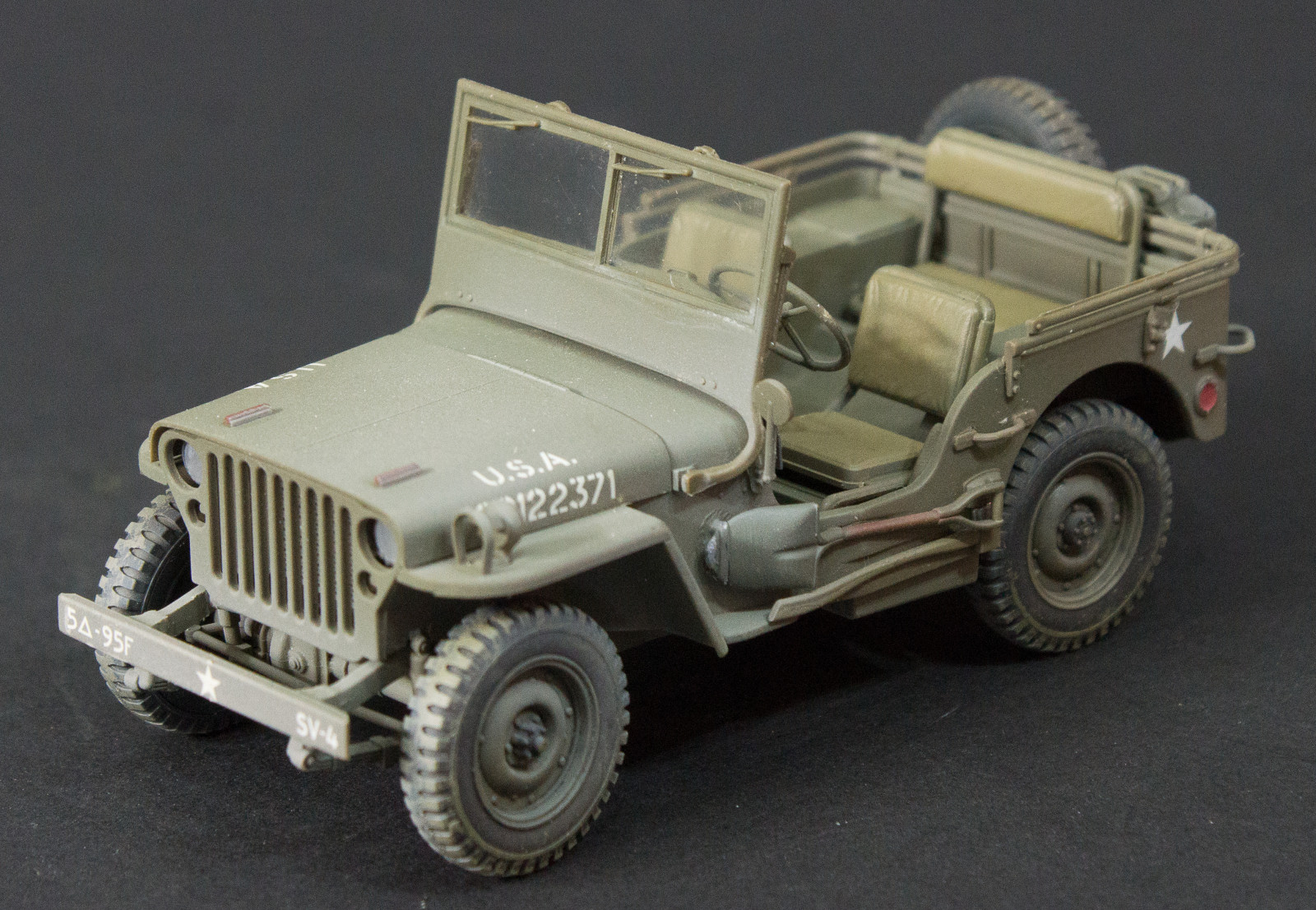 Willys Jeep Build Kit