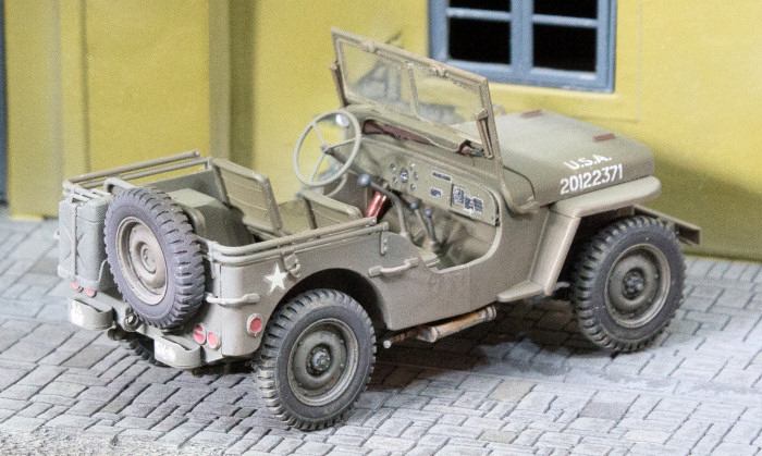 Tamiya 35219 1 35 Us Willys Mb Jeep Build Review