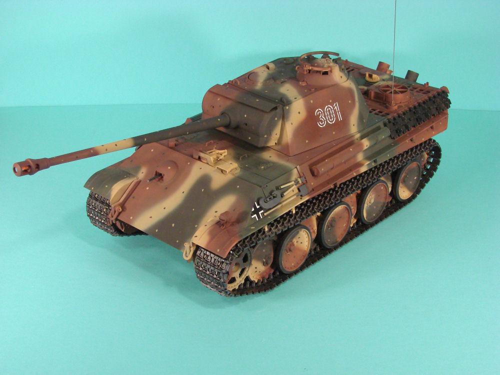 Tamiya 56022 1 16 Pz Kpfw V Sd Kfz 171 Panther Ausf G Full