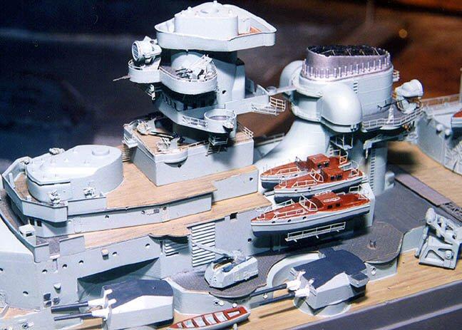 Tamiya 78001 1 350 Bismarck Build Review