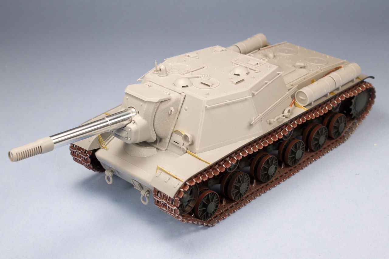 Return to the Trumpeter 1/35 Soviet SU-152 Late Quick Build Review