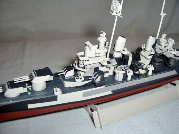 Trumpeter 5724 1 700 Uss Baltimore Ca 68 1943 Build Review