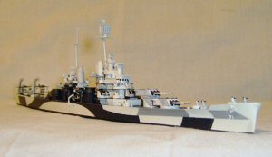 Trumpeter USS Baltimore CA-68 1943 1:700 Scale