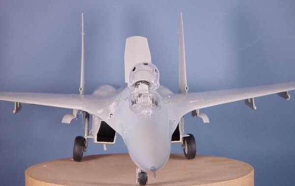 Trumpeter 2224 1 32 Sukhoi Su 27 Flanker B Quick Build Review