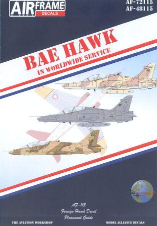 BAE HAWK IN WORLDWIDE SERVICE - AVIATION WORKSHOP - ON TARGET PROFILE 3