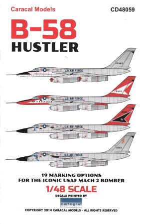 B-58 hustler decals