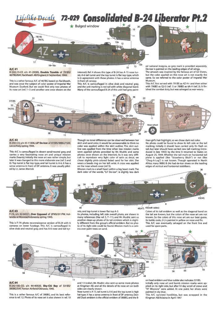 Consolidated B-24 Liberator  B 24 Liberator Nose Art
