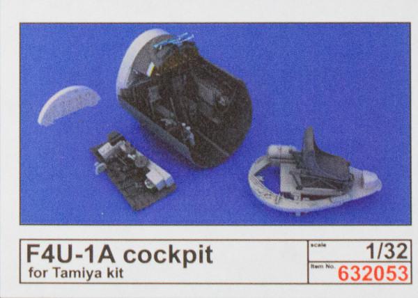 EDUARD BRASSIN 632053 Cockpit for Tamiya Kit F4U-1A Corsair in 1:32