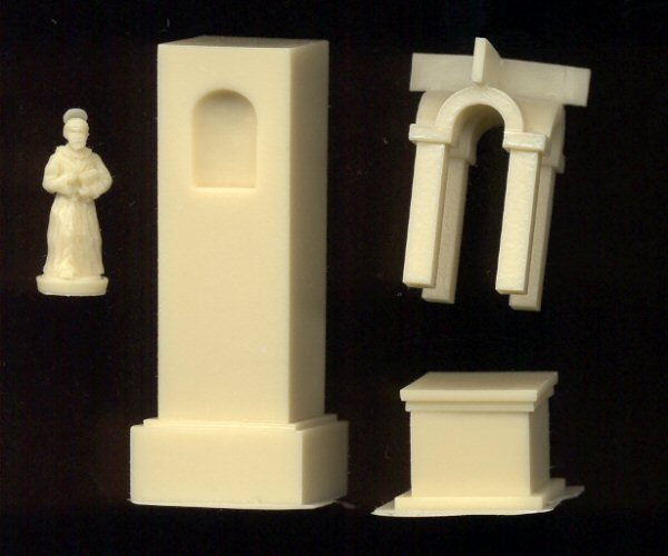 WatFile.com Download Free These parts are cast in tan resin While assembly is a no-brainer