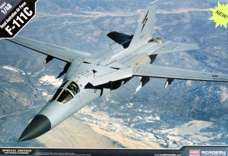 Academy 12220 1/48 F-111C RAAF Kit First Look