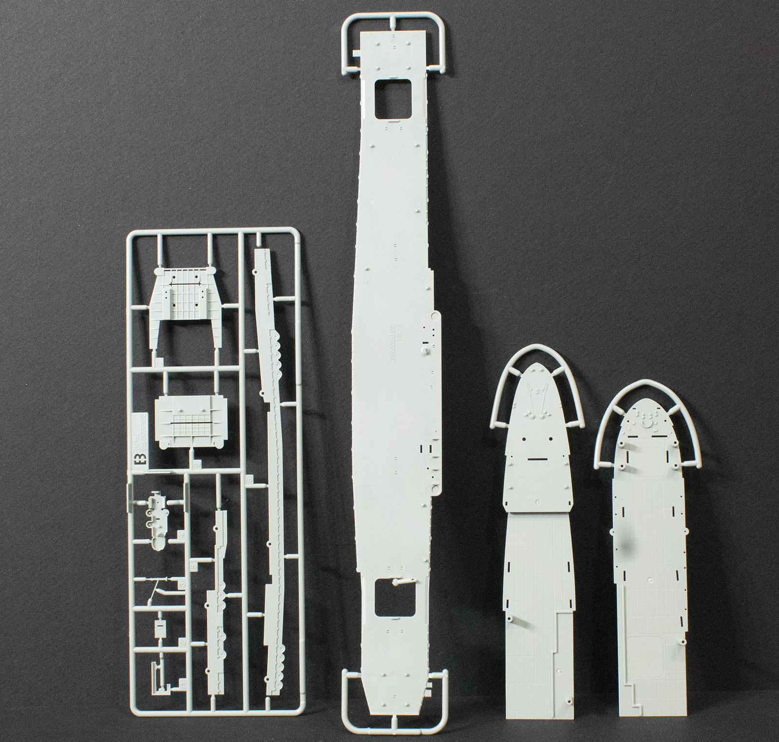 Academy 14224 1/700 USS Enterprise CV 6 Kit First Look